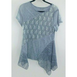 Simply Couture Women's Sz Small Lace Boho Top